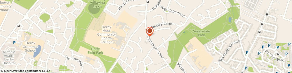 Route/map/directions to Mulberry Court (Dementia), DE23 1FL Derby, 62 Blagreaves La
