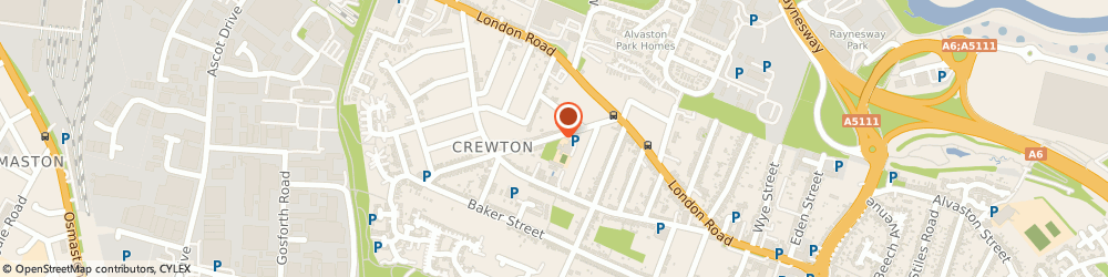 Route/map/directions to Cleaver Meats Ltd, DE24 8RQ Derby, Wisgreaves Rd