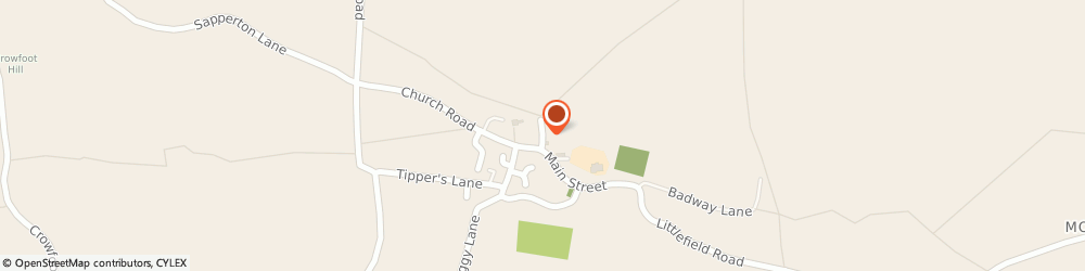 Route/map/directions to Wheatley Consultancy Limited, DE65 5BB Derby, The Gables Chapel Lane