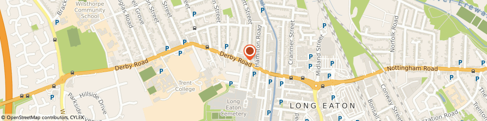 Route/map/directions to Davies Fruit Shop, NG10 4LB Nottingham, 74, Derby Rd