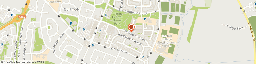 Route/map/directions to A m Williams, NG11 8LF Nottingham, 33 Bainton Grove