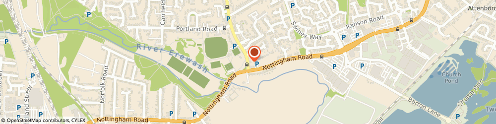 Route/map/directions to Loungers Bendigo Lounge, NG9 2JQ Beeston, 55 High Road