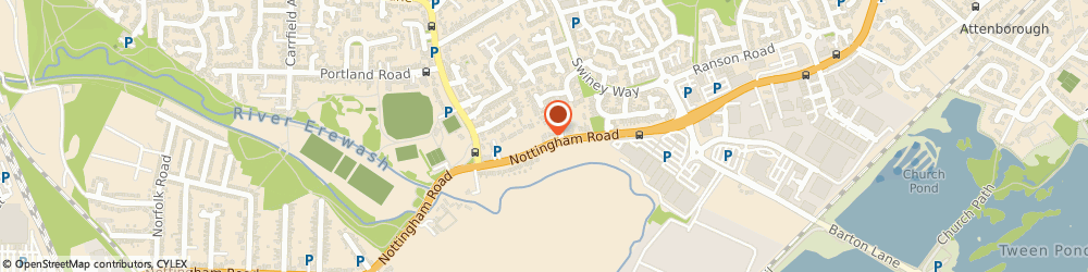 Route/map/directions to Tom Cobleigh Ltd, NG9 6EF Beeston, Nottingham Road