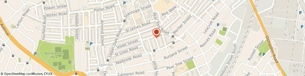 Route/map/directions to Privilege Accident Claims Ltd, DE23 8QE Derby, 76 Goodale St