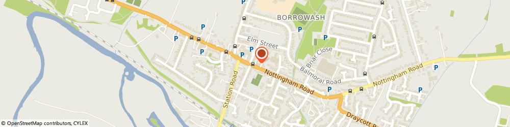 Route/map/directions to Post Office Limited, DE72 3FL Derby, 31 Nottingham Road
