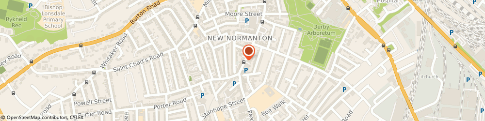 Route/map/directions to Prestige Insurance Brokers (Uk) Limited, DE23 6WE Derby, 320 NORMANTON ROAD