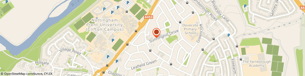 Route/map/directions to Sunninghill Off Licence, NG11 8FT Nottingham, 37 SUNNINGHILL DRIVE