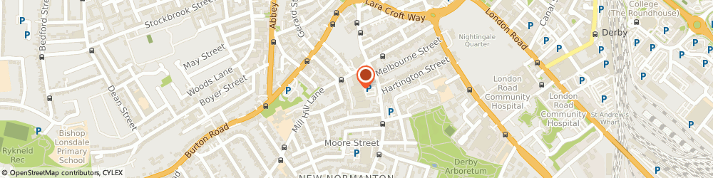 Route/map/directions to The Gym Derby, DE23 6UQ Derby, 5a/5b Normanton Road