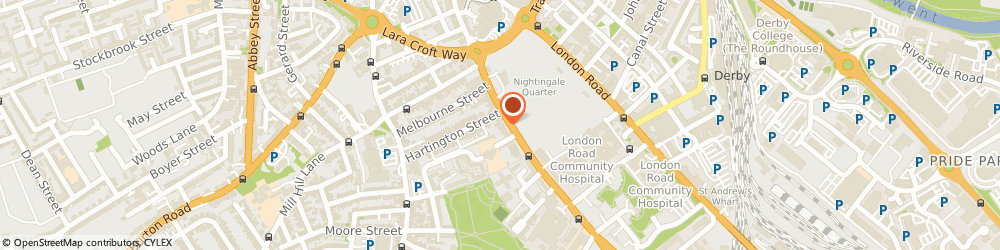 Route/map/directions to AA Plumbing and Heating Services Derby, DE1 2RF Derby, 124 Osmaston Rd, International House