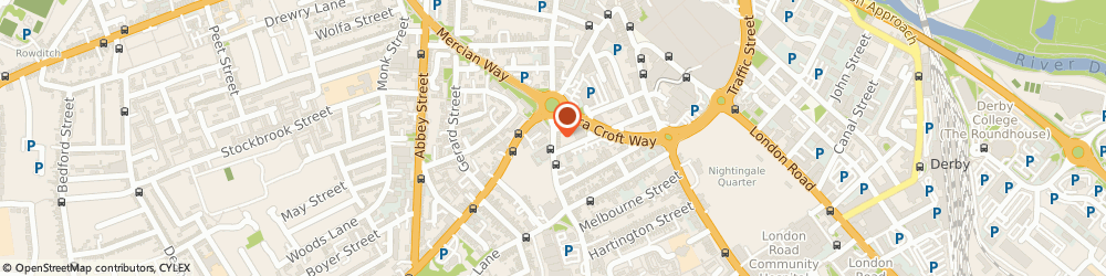 Route/map/directions to Awr Accountants & Business Advisors LLP, DE1 2GJ Derby, LAWRENCE HOUSE, 37 NORMANTON ROAD