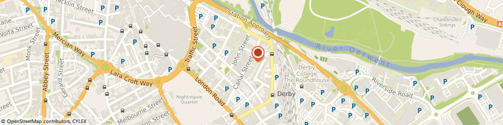 Route/map/directions to Bates Weston Chartered Accountants & Business Advisors, DE1 2RJ Derby, The Mills, Canal Street