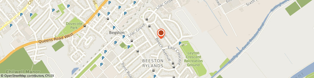 Route/map/directions to M J R Decorating, NG9 1QH Beeston, 39 BEECH AVENUE