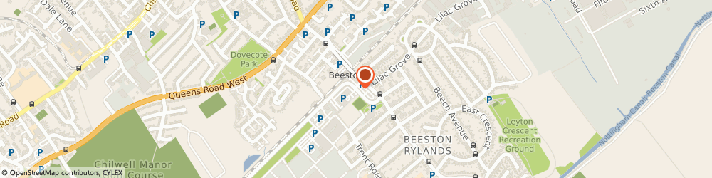 Route/map/directions to Amcare Ltd, NG9 2ND Beeston, UNIT 22 GPT BUSINESS PARK, TECHNOLOGY DRIVE