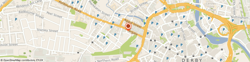 Route/map/directions to Inovix Network Solutions Ltd, DE1 1FL Derby, 83 Friar Gate