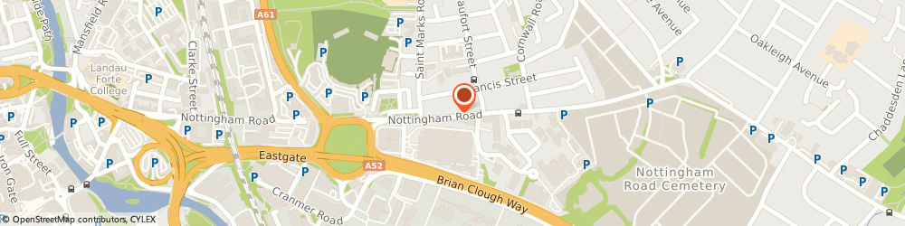 Route/map/directions to Wilson Insurance Brokers, DE21 6AN Derby, 133, Nottingham Rd