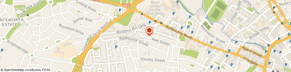 Route/map/directions to VAMS, DE22 3BS Derby, 23 Bass Street