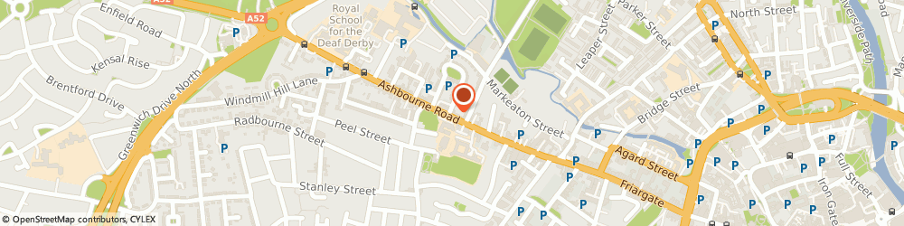 Route/map/directions to Computerised Accounting Solutions, DE22 3AF Derby, 68 Ashbourne Rd