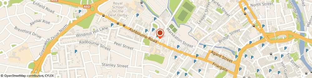 Route/map/directions to MFA Building Control Ltd, DE22 3AF Derby, Clifton House, 68 Ashbourne Road
