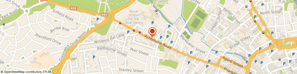 Route/map/directions to Ashgate Primary School, DE22 3FS Derby, Ashbourne Road