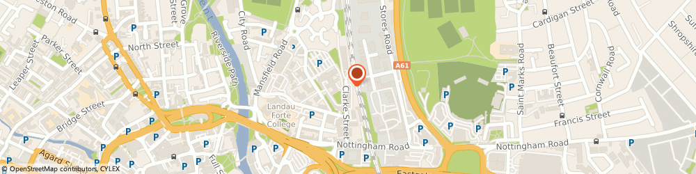 Route/map/directions to Raven Engineering Services Limited, DE1 2BU Derby, 1 DERWENT BUSINESS CENTRE, CLARKE STREET