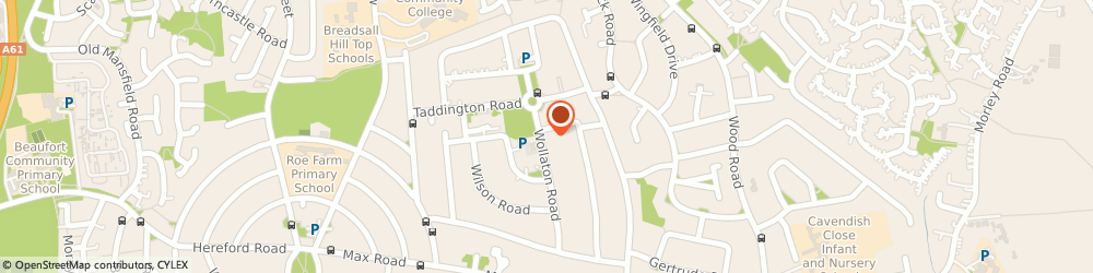 Route/map/directions to Vision Pharmacy, DE21 4HW Derby, 68 Wollaton Rd