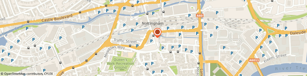 Route/map/directions to Prison Law Consultants Ltd, NG2 2JR Nottingham, 1 Arkwright Street