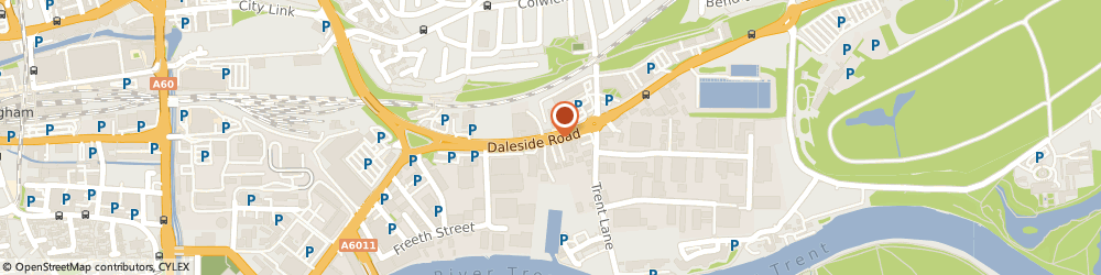 Route/map/directions to Csy Retail Systems Ltd, NG2 4DH Nottingham, Csy House Daleside Rd