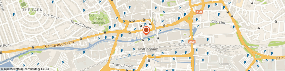 Route/map/directions to Greggs, NG1 7FE Nottingham, 93 Carrington Street