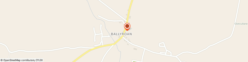Route/map/directions to Whelan Tom Stoneworks,  Ballyroan,