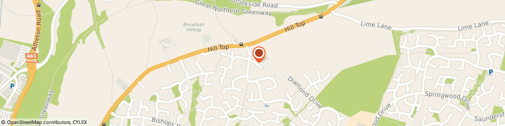 Route/map/directions to Body Slender Derbyshire Laser Lipo, DE21 4TA Derby, 2 Lindford Close