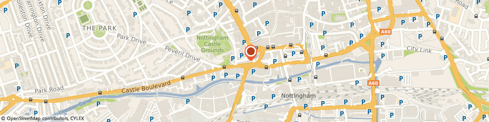 Route/map/directions to Fit4purpose Coaching, NG7 1FB Nottingham, 4 Castle Blvd