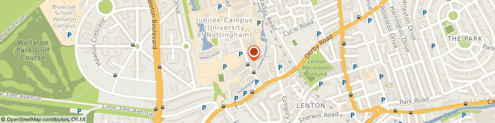 Route/map/directions to Head2Bed, NG7 2GA Nottingham, Triumph Rd