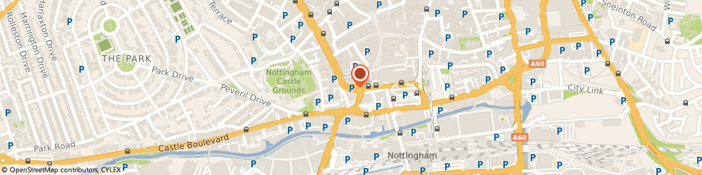 Route/map/directions to Avis Rent a Car, NG1 6AE Nottingham, The Arndale Centre, Maid Marian Way