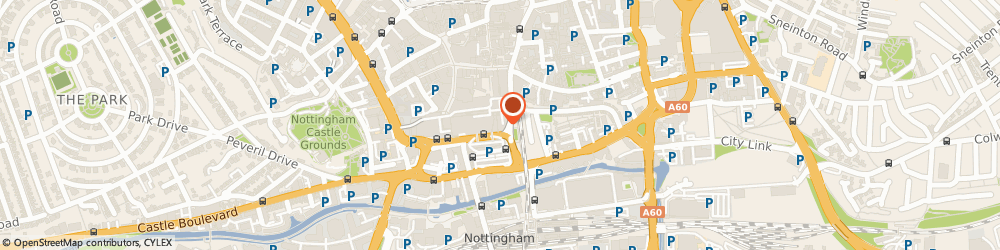 Route/map/directions to BrightHouse, NG1 7LB Nottingham, 30-31 Tanners Walk, Broadmarsh Centre
