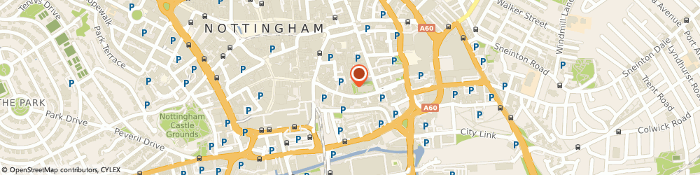 Route/map/directions to AppInstitute, NG1 1QA Nottingham, 50 St Mary's Gate