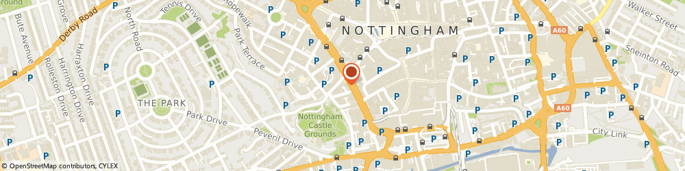 Route/map/directions to Coriolis Limited, NG1 6DH Nottingham, Castle House, Friar Lane