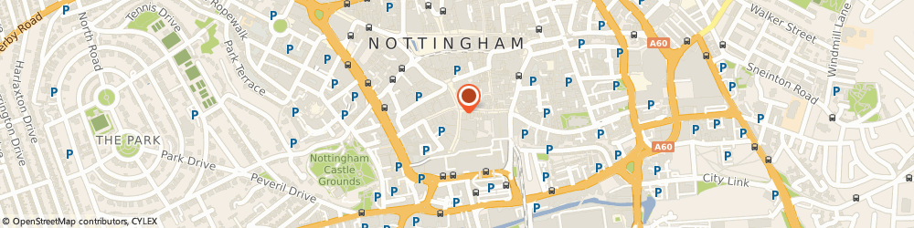 Route/map/directions to Greggs, NG1 7DD Nottingham, 6-8 Listergate