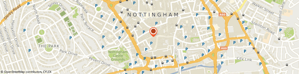 Route/map/directions to Congregational Federation, NG1 7AS Nottingham, 8 Castle Gate
