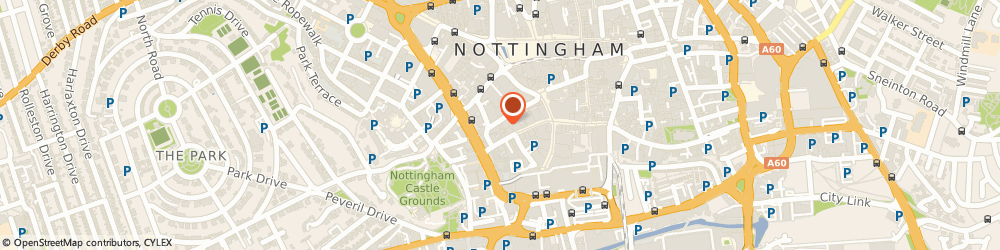 Route/map/directions to Wellness In Mind, NG1 6BB Nottingham, 73 Hounds Gate