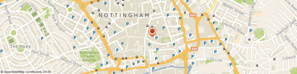 Route/map/directions to The Art File, NG1 2GB Nottingham, 11 Weekday Cross