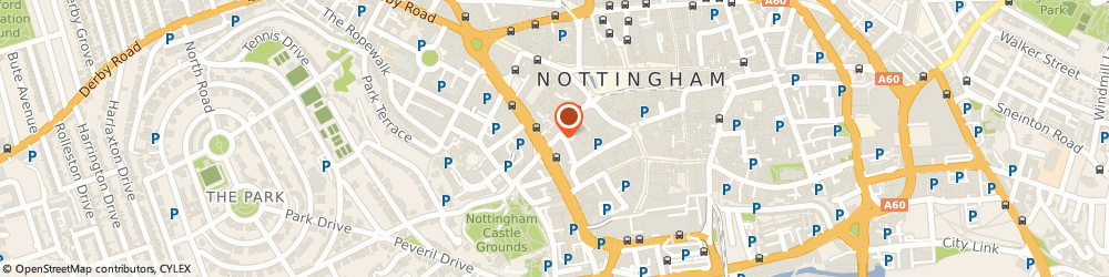 Route/map/directions to Fastframe, NG1 6DQ Nottingham, 46 FRIAR LANE
