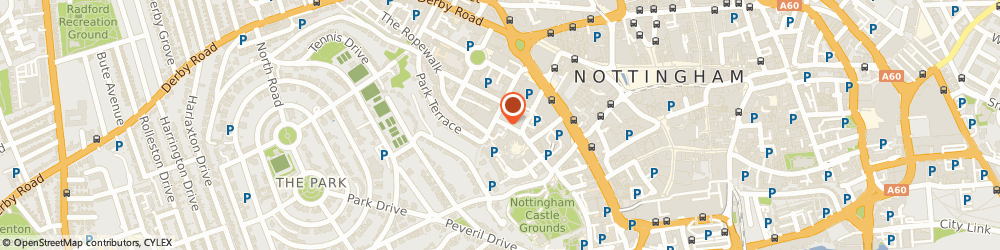 Route/map/directions to Kpmg, NG1 6FQ Nottingham, 31 Park Row, St Nicholas House