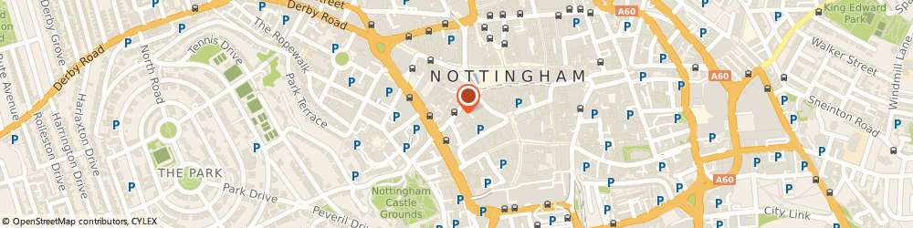 Route/map/directions to Boost Wellbeing - Hands on Health UK, NG1 6DQ Nottingham, Office 410, 109 Vernon House, Friar Lane