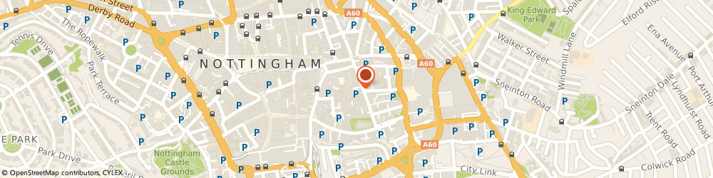 Route/map/directions to NCP Car Park Nottingham Stoney St, NG1 1LS Nottingham, Stoney Street