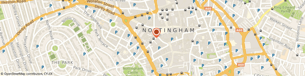 Route/map/directions to Lose the Box, NG1 6DQ Nottingham, Office 1026, 109 Vernon House, Friar Lane