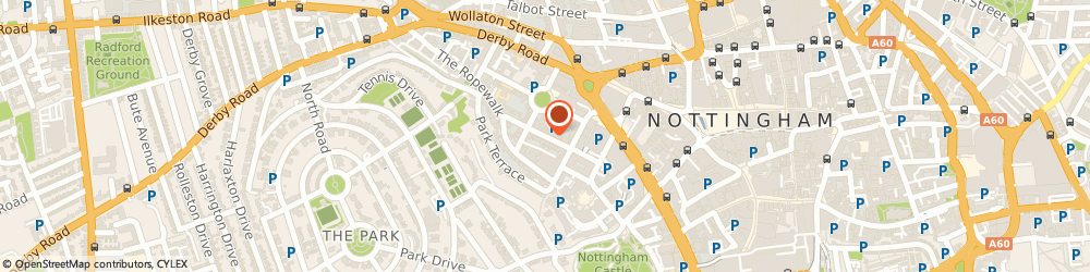 Route/map/directions to Taylor Dawson Plumb Limited, NG1 5BQ Nottingham, 22 Regent Street