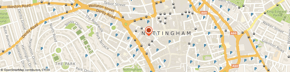 Route/map/directions to Dukki Ltd, NG1 6FG Nottingham, 18 St. James's St