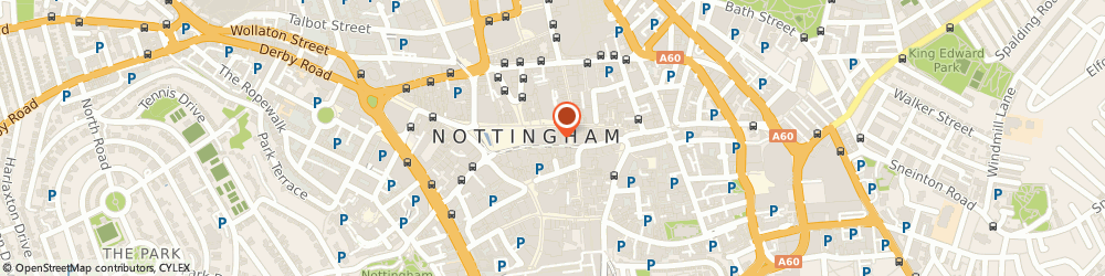 Route/map/directions to Castle Galleries, NG1 2DD Nottingham, 8-10 Exchange Arcade
