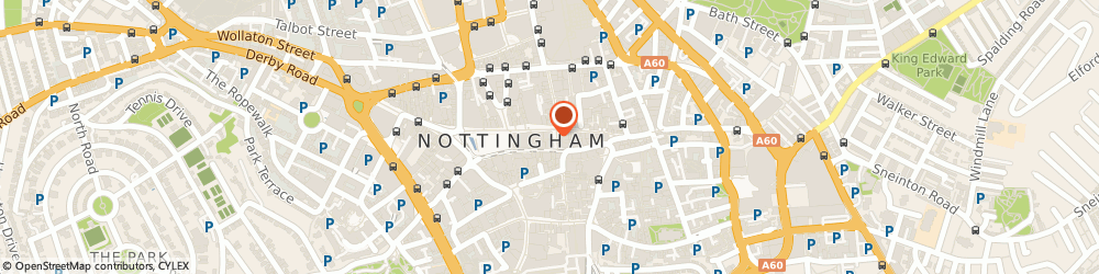 Route/map/directions to Gauntleys of Nottingham Ltd, NG1 2ET Nottingham, 4 High St