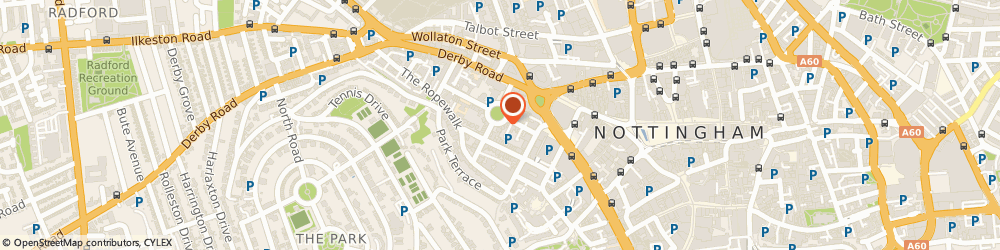 Route/map/directions to Russell Scanlan Ltd, NG1 5AJ Nottingham, WELLINGTON HOUSE, 15 WELLINGTON CIRCUS
